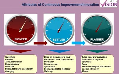 Innovation: Are you a Pioneer, Settler or Planner?